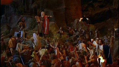 Cecil B. DeMille sets the standard for Biblical epics with