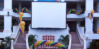 Outdoor Movie in Miami, Florida