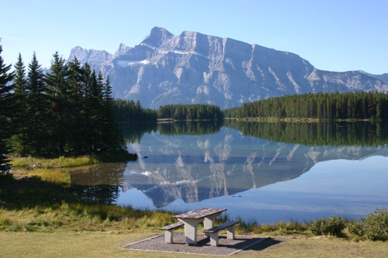 Outdoor Movies in Banff, Canada