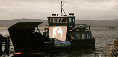 Outdoor Movies in Cromarty, Scotland
