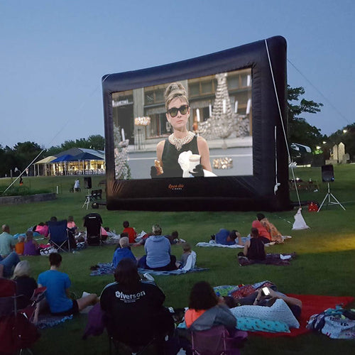Elite Outdoor Movie Screen Kit 25'