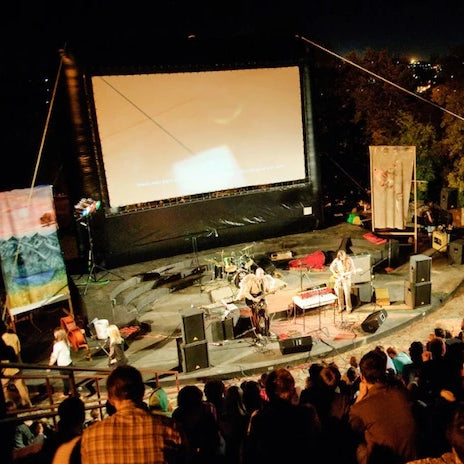 Elite Outdoor Movie Screen Kit 20'