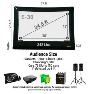 Cinebox Elite A/V System 30'