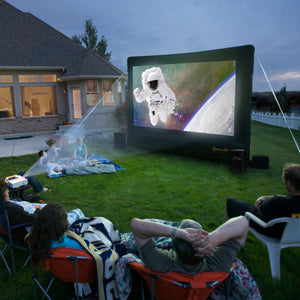 Home Outdoor Movie Screen Kit 9'