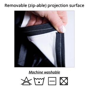 Removable Projection Surface - Washable