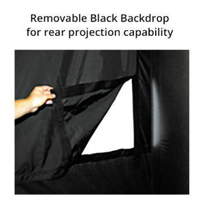 Removable Backdrop - Rear projection