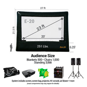 Cinebox Elite A/V System 20'