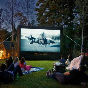 Outdoor Home Theater System 12'
