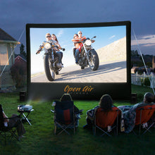 Load image into Gallery viewer, 16 ft Home Outdoor Movie System - Open Air Cinema