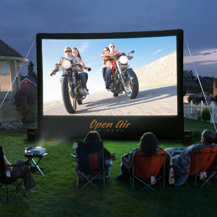 16 ft Home Outdoor Movie System - Open Air Cinema
