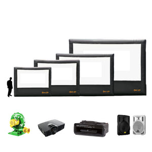 Outdoor Home Theater System 9'