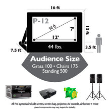 Load image into Gallery viewer, Event Pro Outdoor Theater System 12'