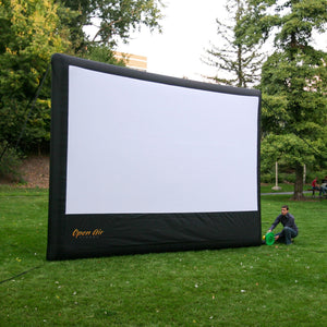 Open Air Cinema Home 16' Outdoor Movie Screen Kit