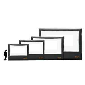 Home Outdoor Movie Screen Kit 9 Home Screens + Systems