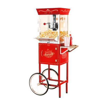 Outdoor Movie Popcorn Machine