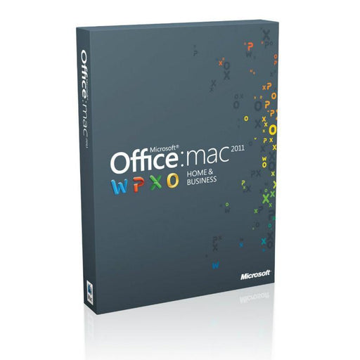 Microsoft Office MAC 2011 Home and Business for 1 User 1 Mac