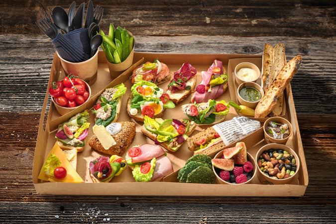 Lunch to Share Box Luxe 4 personen