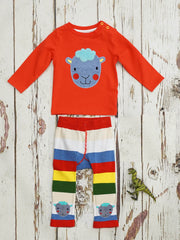 Blade /& Rose Bright Sheep Top 1-2 Years Red