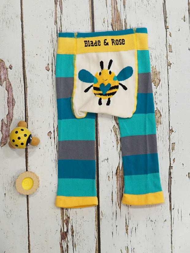 Blade and Rose Buzzy Bee Leggings, Top and Socks Set