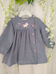 Chambray Unicorn Dress