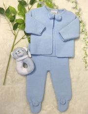 Knitted Pom Pom Suit