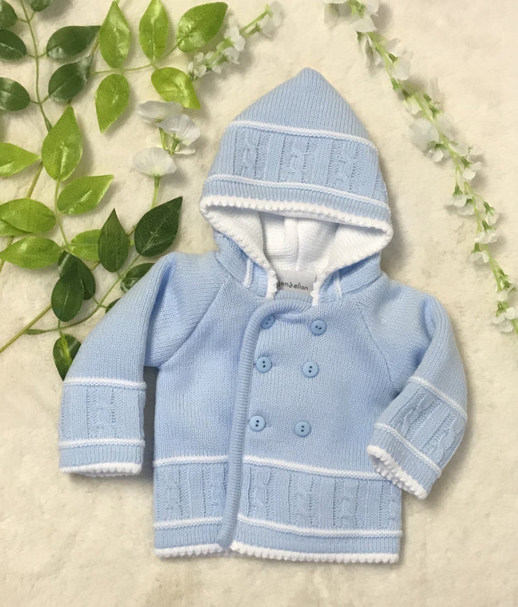 Knitted Pram Coat