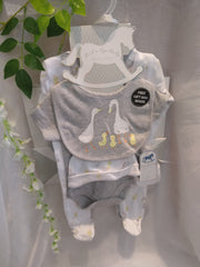 Unisex Duck Layette Set