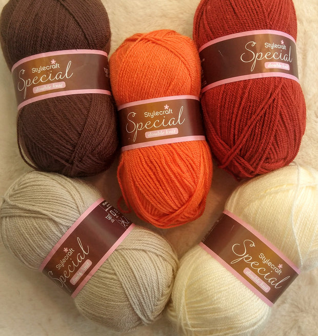 Stylecraft Special DK Colourpack - Browns