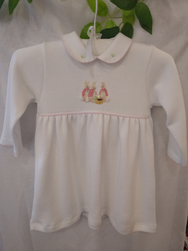 Flopsy Bunny Soft Pima Cotton Knitted Dress