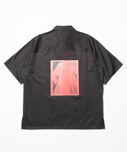 【SALE】【ARCHON×ALEXANDER BORTZ】Photo PRT Short Sleeve Shirt