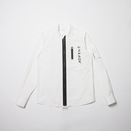【SALE】Fastener Pockt Shirt
