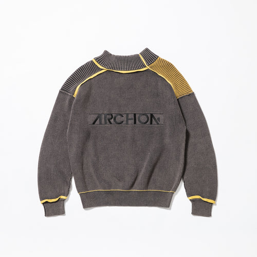 【SALE】ARCHON Logo Knit Pullover