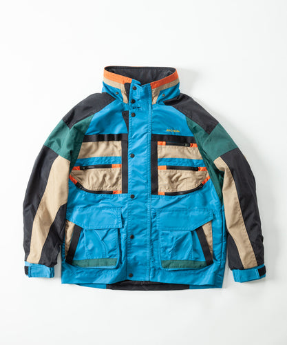 Color Pattern Blouson