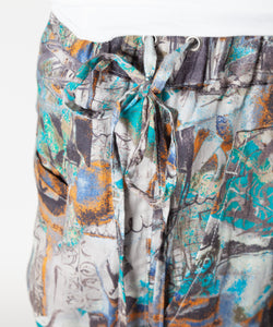 【SALE】Panel Pattern Shorts