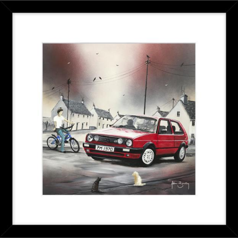 Golf GTI Framed Picture - Adam Barsby
