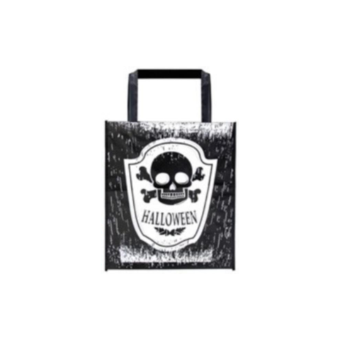 Trick or Treat Bag - Black & White