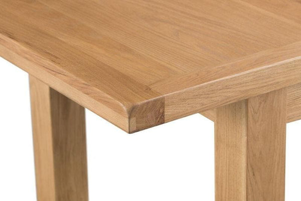 Duxburys Country Solid Oak Extending Table - 170cm to 220cm