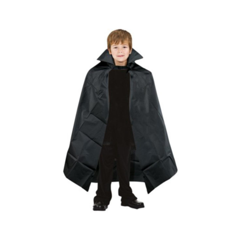 Child's Black Vampire Cape