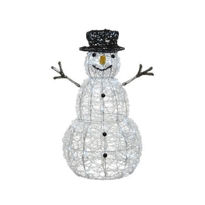 LED Acrylic Flashy Snowman