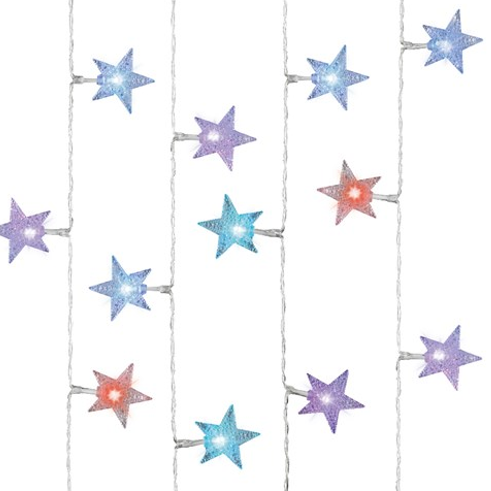 LED String of Stars 2.9m - Colour Changing