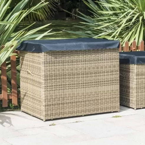 Katie Blake - Seville Water Proof Garden Storage Box - Natural