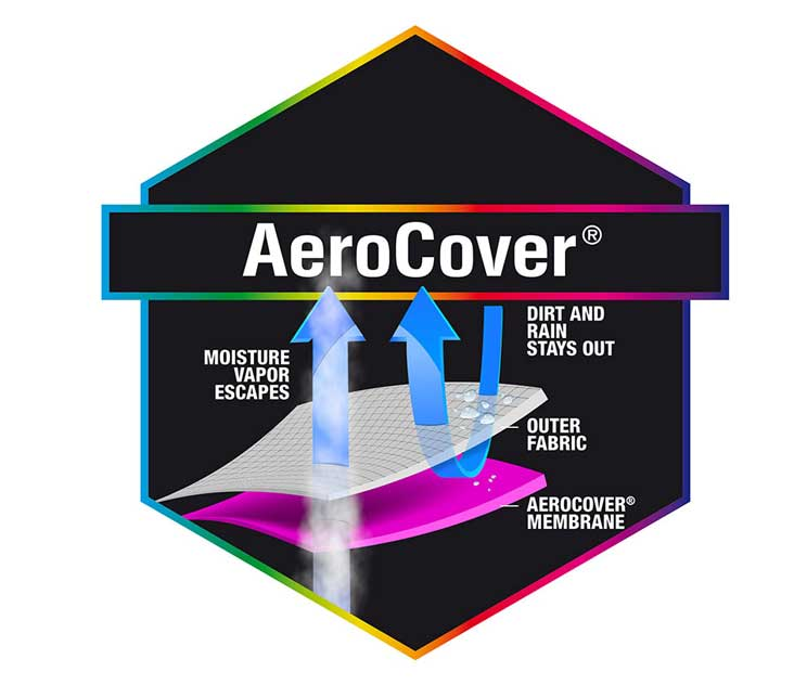 Stackable Chair Aerocover 67 x 67 x 80/110cm