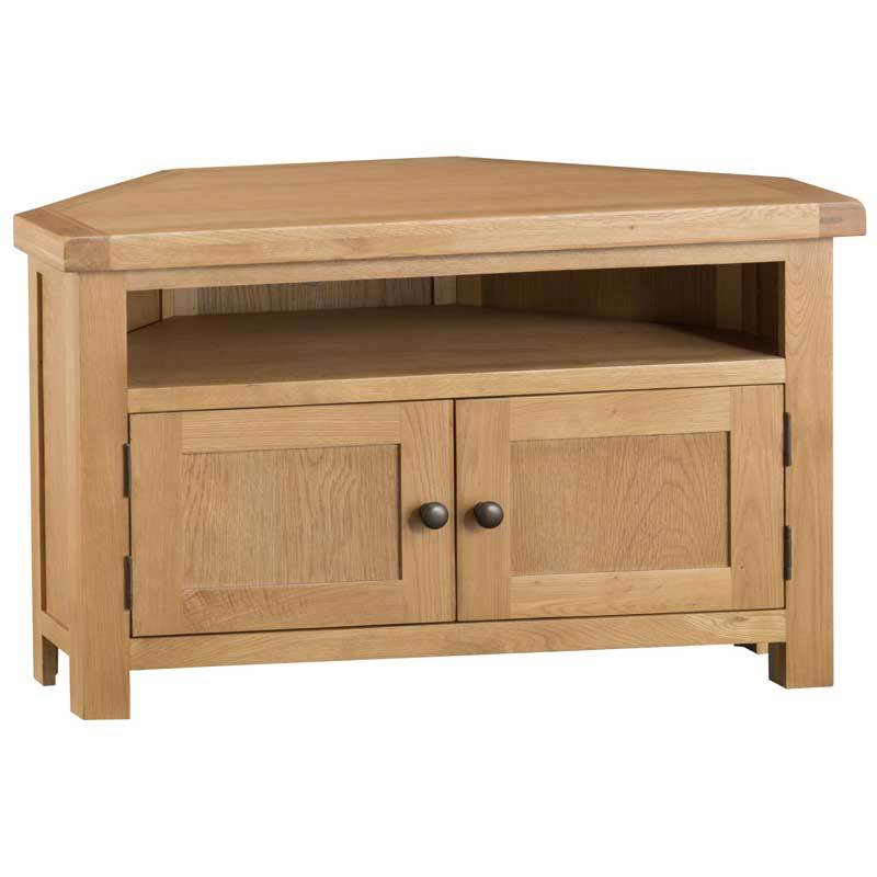 Duxburys Country Oak Corner TV Unit
