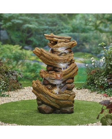 Nootka Springs Water Feature with Pump - X Large
