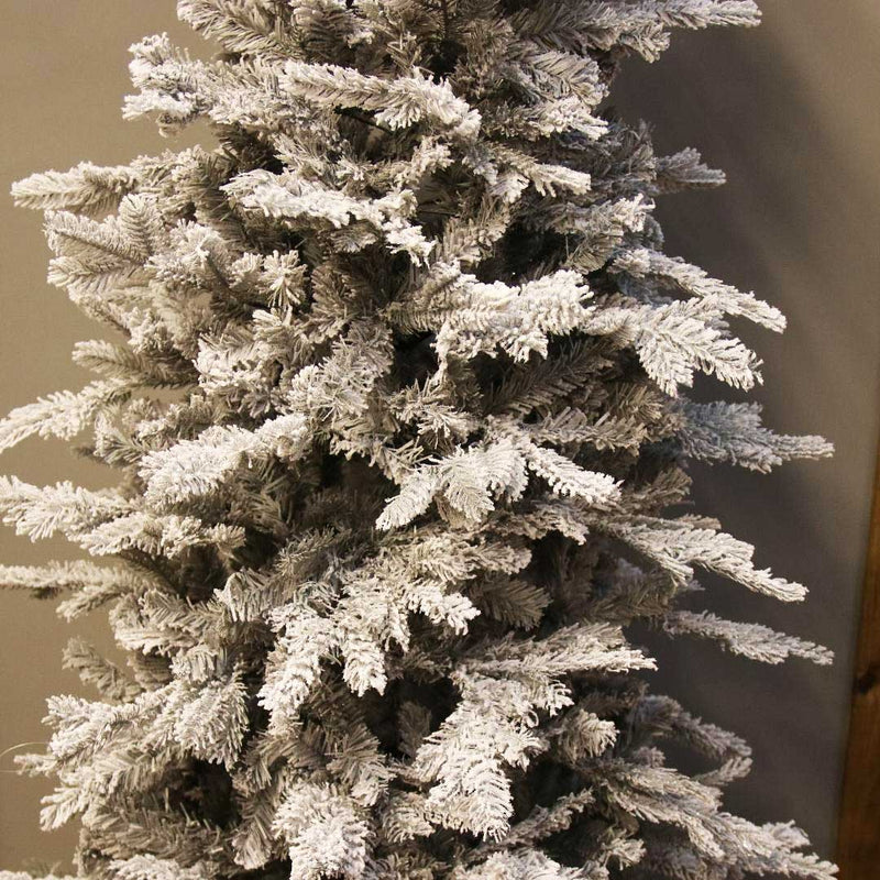 Frosted Grandis Slim Fir Christmas Tree