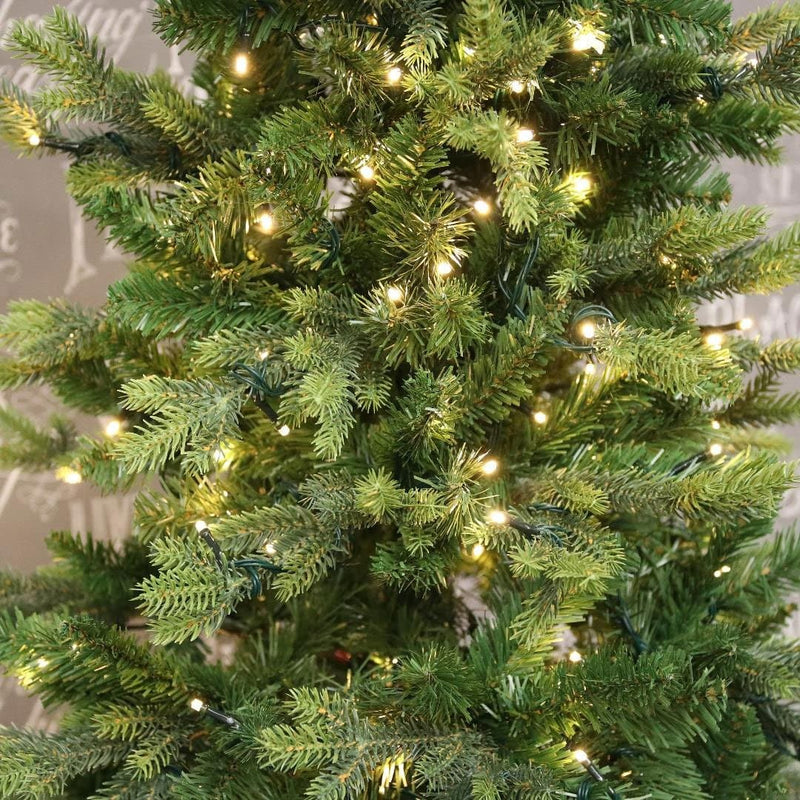 Slim Moritz Fir Pre Lit Christmas Tree - 2 Sizes