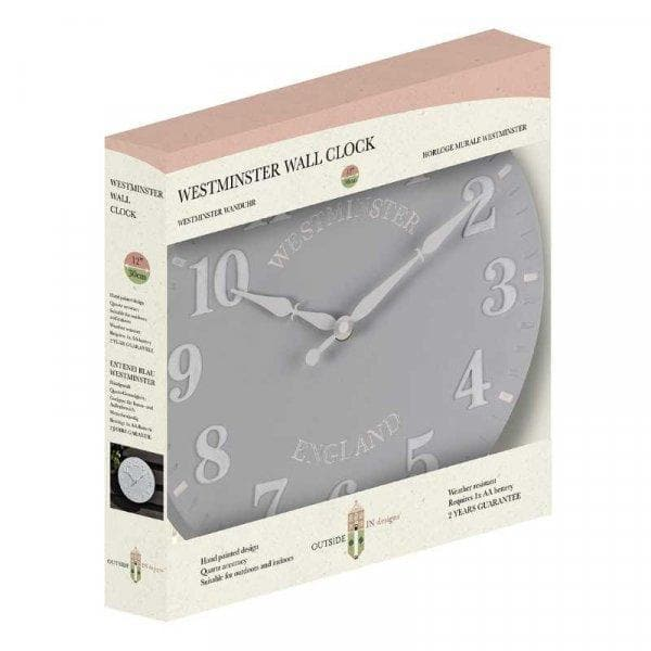 Westminster Duck Egg Wall Clock