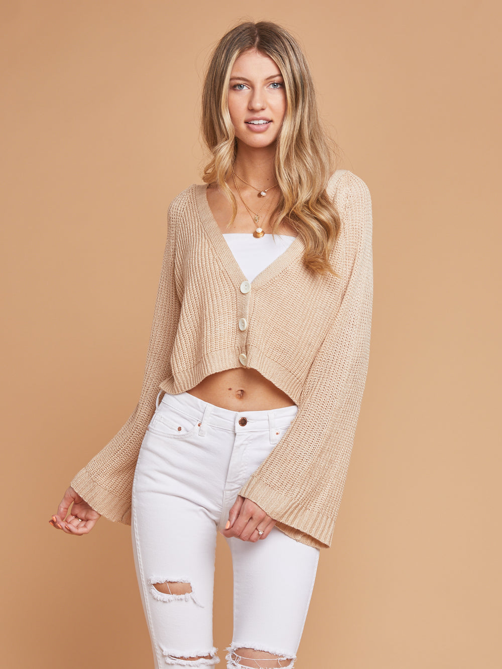 Belle Button Sweater