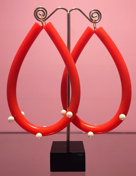 Tubular Hoop Earrings