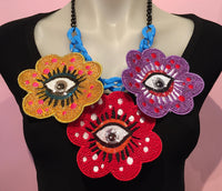 All Seeing Eyes Necklace
